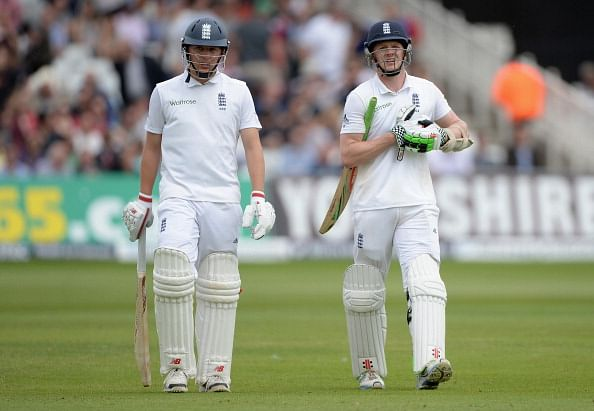 England v India 2014 - 3rd Test, Day 1: Alastair Cook and Gary Ballance take England to 247/2