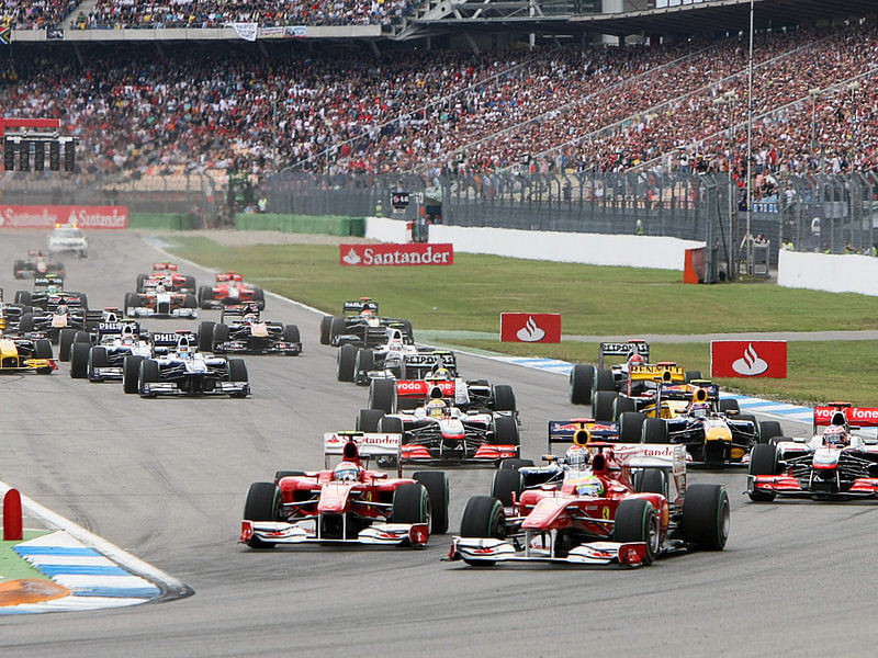 Company offers German GP discount for Germany's 7-1 World Cup win