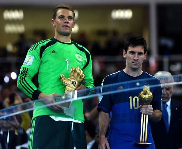 FIFA World Cup 2014: Messi wins Golden Ball, Rodriguez takes home Golden Boot