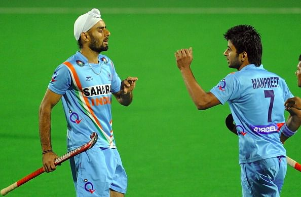 Commonwealth Games 2014: Manpreet Singh and Gurvinder Chandi get 100th international cap
