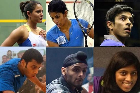 Commonwealth Games 2014: Indian squash players look to win first medals in the sport