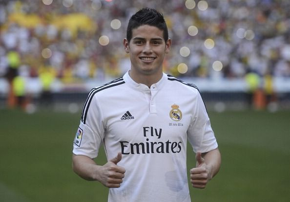 Real Madrid confirm signing of James Rodriguez from AS Monaco