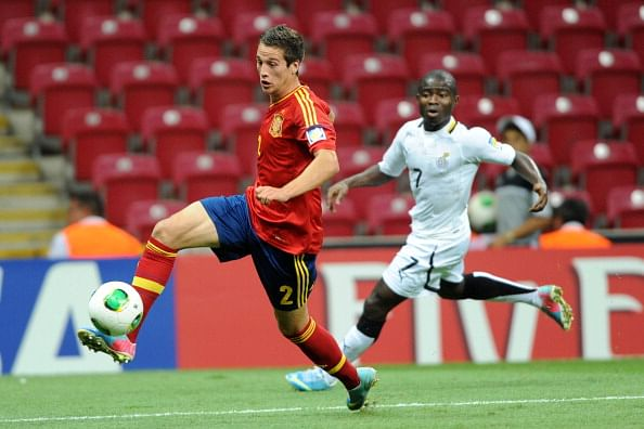 Atletico Madrid's Javier Manquillo closes in on loan move to Liverpool