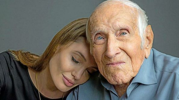 Angelina Jolie pays tribute to 'Unbroken' inspiration Louis Zamperini