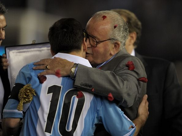 Julio Grondona's death sad day for football: Lionel Messi