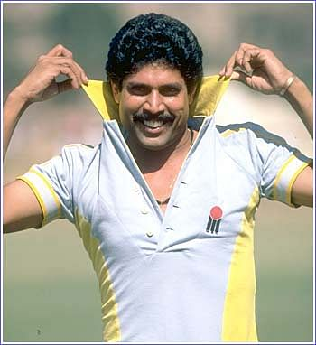 Kapil Dev's debut in International Cricket