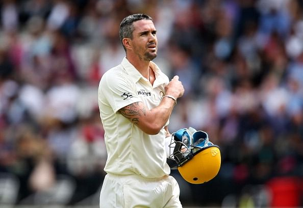 Kevin Pietersen shoots for the cover of his autobiography