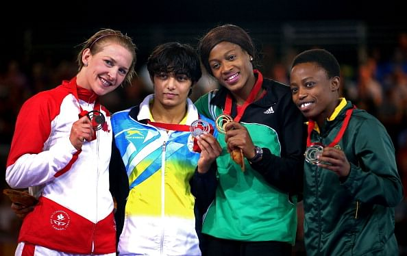 Commonwealth Games 2014: 4 Silvers and a bronze for India in wrestling