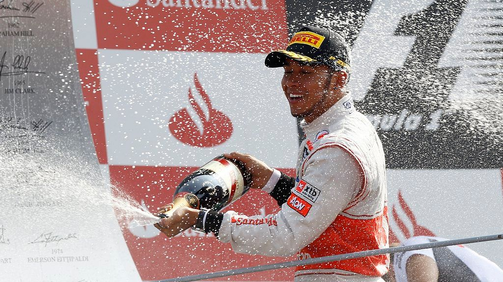 Lewis Hamilton - Top 5 races