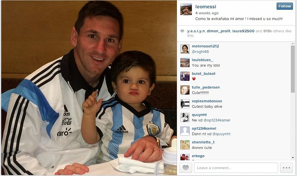 15 adorable photos of footballers and their children