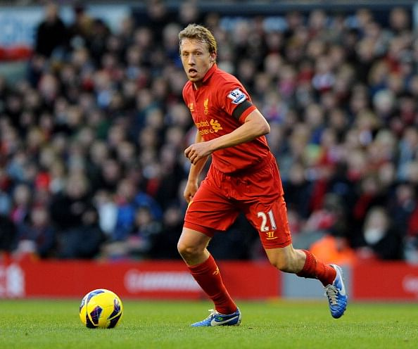 Reports: Liverpool willing to sell Lucas Leiva to fund move for Southampton's Dejan Lovren
