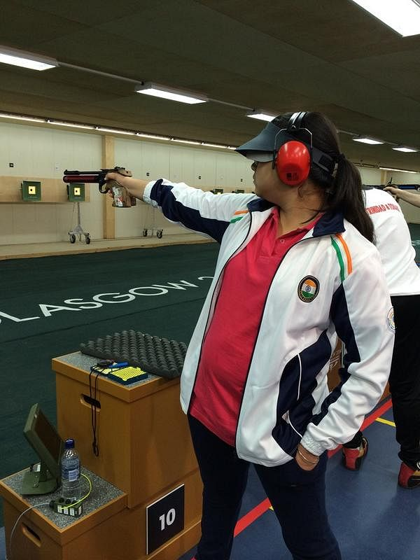 Commonwealth Games 2014: 16-year-old Malaika Goel wins silver in the 10m Air Pistol event
