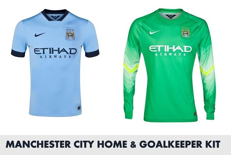 2014/15 kits of all major European teams