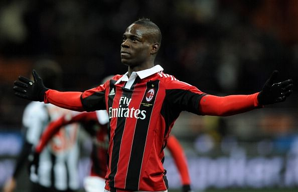 No Arsenal bid received for AC Milan's Mario Balotelli according to club's CEO