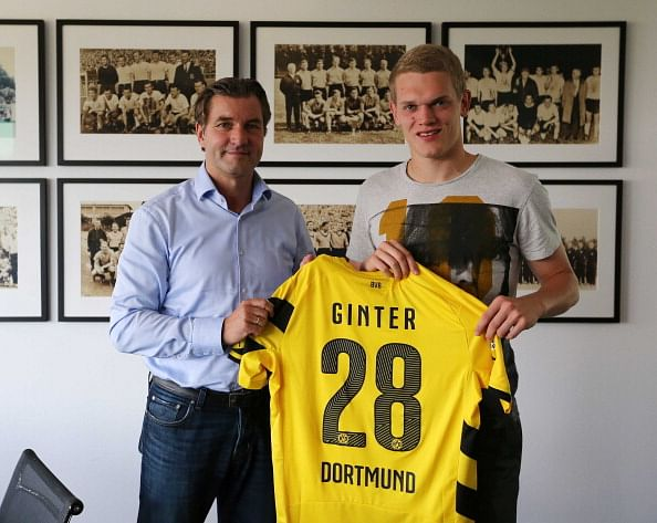 Borussia Dortmund sign German international Matthias Ginter