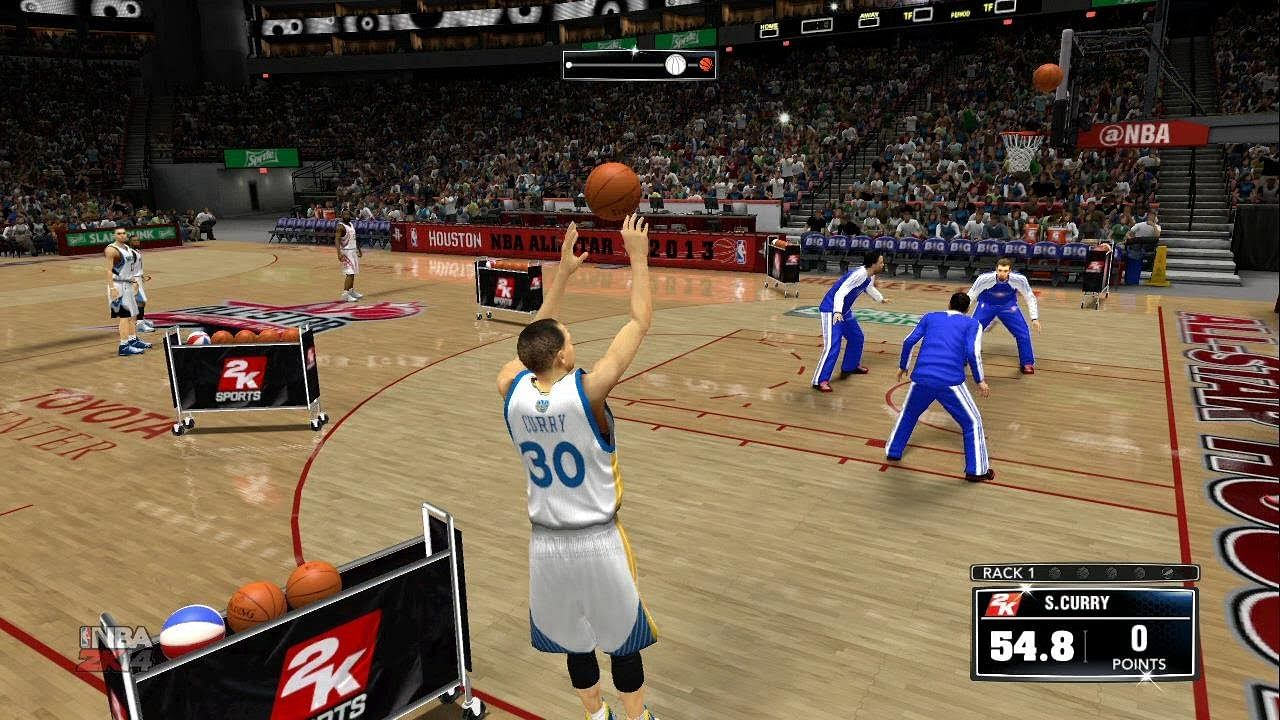 Top ten 3 point shooters in NBA 2K14