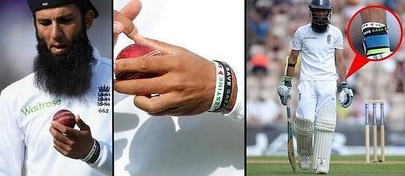 England cricketer Moeen Ali faces ICC investigation for Gaza wristbands