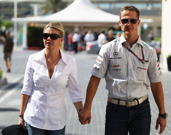 Michael Schumacher's health is showing signs of improvement: Corrina