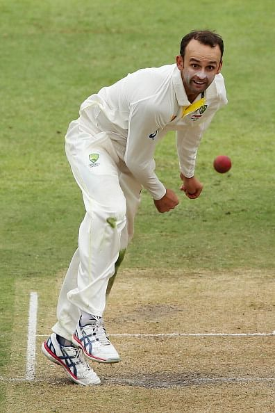 Nathan Lyon enjoying lessons from Sri Lankan maestro Muttiah Muralitharan