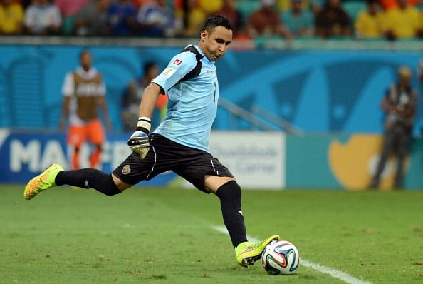 Real Madrid close to signing Costa Rican goalkeeper Keylor Navas