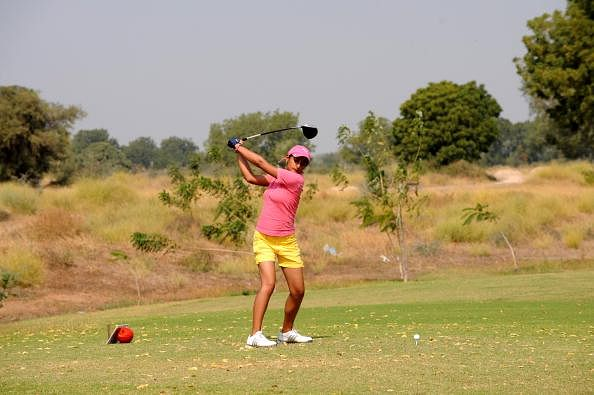 Hero Women's Professional Golf Tour: Neha Tripathi and Ankita Tiwana share top honours on Day 1