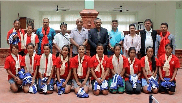 Nepal Women's National Basketball team to play in India