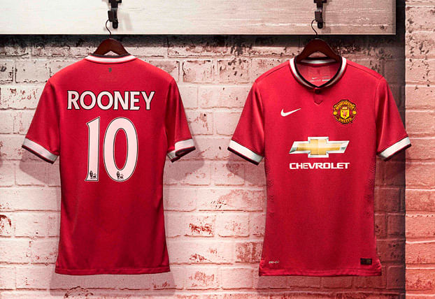 Manchester United 2014-15 official kit now available in India