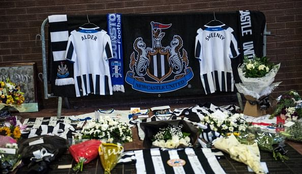 Newcastle United mourn the loss of two fans in the Malaysian Airlines disaster
