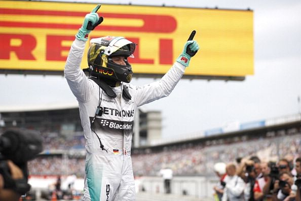 Nico Rosberg wins German Grand Prix, Force India drivers in top 10