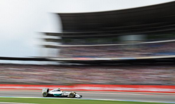 Nico Rosberg crusies to victory at German Grand Prix