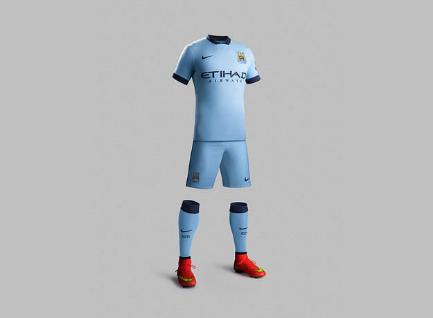 Manchester City 2014-15 official kit now available in India