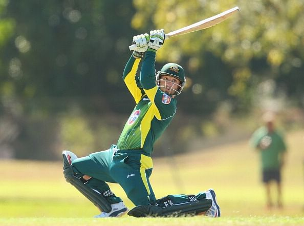 Phil Hughes becomes first Australian batsman to score a double hundred in 50-over cricket