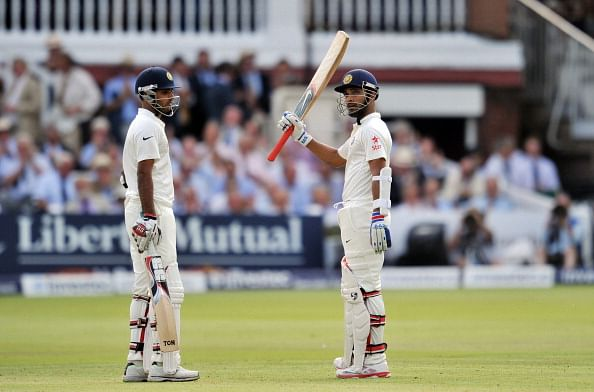 England vs India 2nd Test Day 1 - Ajinkya Rahane saves the day for India with a fine hundred