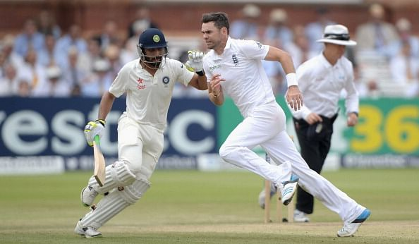 England's witnesses Ben Stokes and Matt Prior accuse Ravindra Jadeja of raising his bat against James Anderson