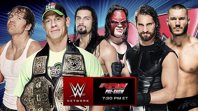 wwe monday night raw review and results july 14 2014