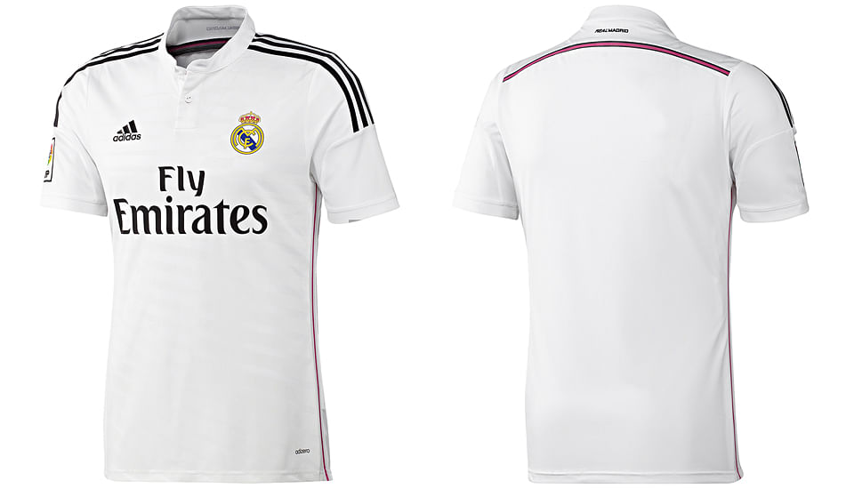 Real Madrid 2014-15 official kit now available in India