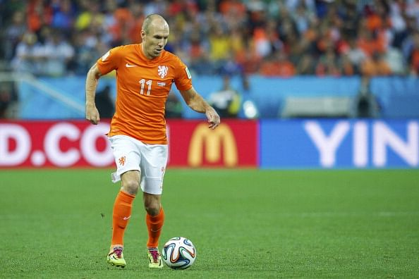 Rumour: Manchester United tried to sign Arjen Robben, admits former assistant manager Rene Meulensteen
