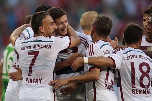 Highlights: Robert Lewandowski scores an audacious chip as Bayern Munich beat Gladbach