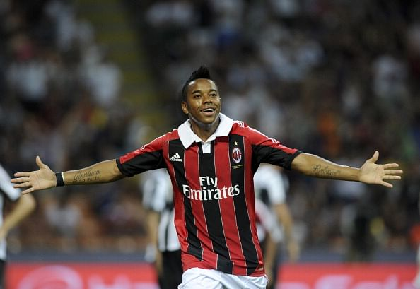 MLS side Orlando City in negotiations with AC Milan for Robinho