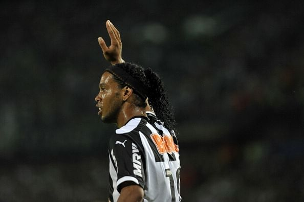 Is Ronaldinho on his way out of Atletico Mineiro?