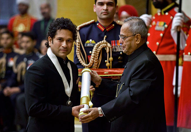 Awarding Sachin Tendulkar with the Bharat Ratna was a last minute decision; Dhyan Chand was the first choice