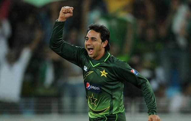 Saeed Ajmal's debut in International Cricket