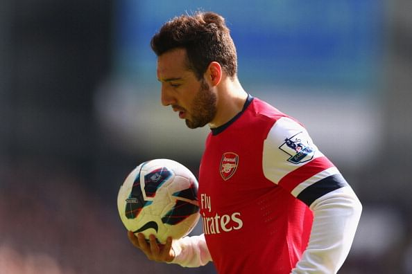 Rumour: Atletico Madrid line up £15 million move for Arsenal's Santi Cazorla
