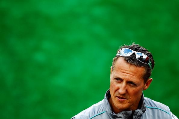 Most difficult time is over, says Michael Schumacher's wife