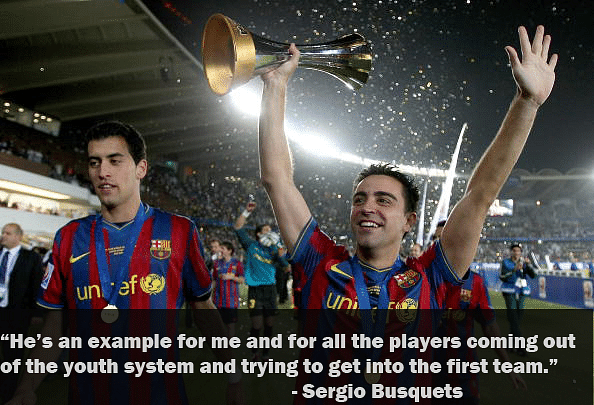 10 Best quotes on Xavi - The pass master