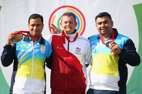 Commonwealth Games 2014: Sanjeev Rajput wins men's 50m rifle 3 positions silver; Gagan Narang bronze