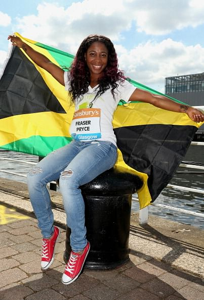 Shelly-Ann Fraser-Pryce is upbeat after a good showing at the Glasgow Grand Prix