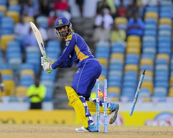 Shoaib Malik and Tino Best fined for on-field argument in Caribbean Premier League