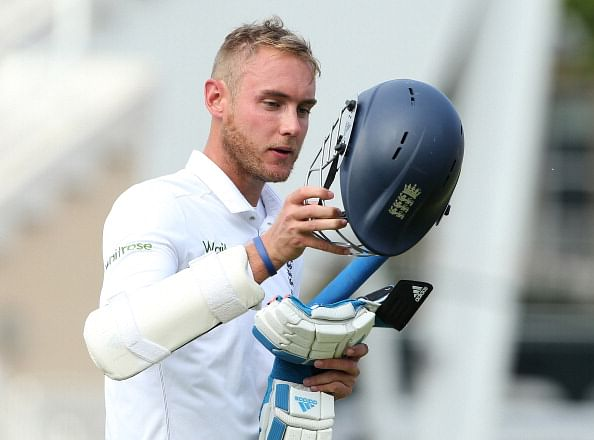 Stuart Broad: It was frustrating, Indian pitches are faster than this