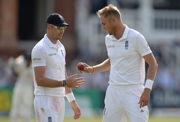 Stuart Broad elated at taking 500 Test wickets together with James Anderson